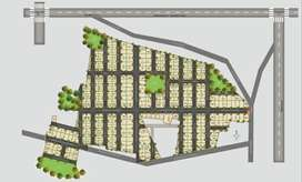 investment purpose the best layout in 60acres near BARC town ship atch