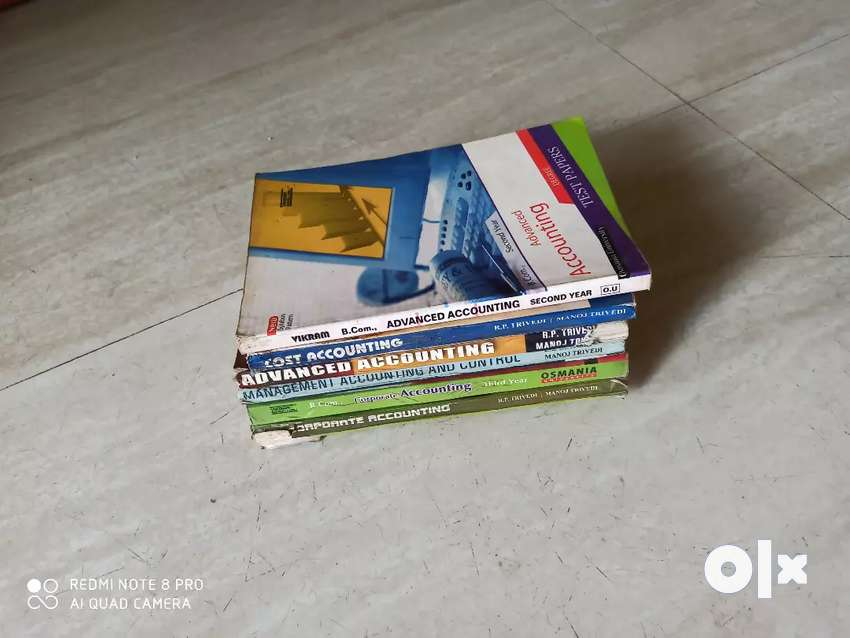 B•com Accounting books 0