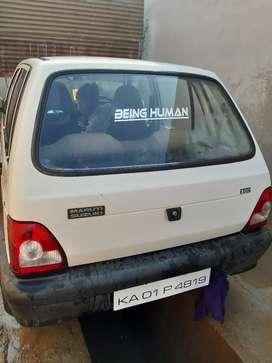 Maruti Suzuki 800 2000 Petrol Well Maintained