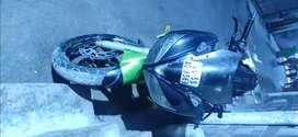 Yamaha fazer green