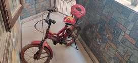 Kids learner bicycle, 3-6 yrs
