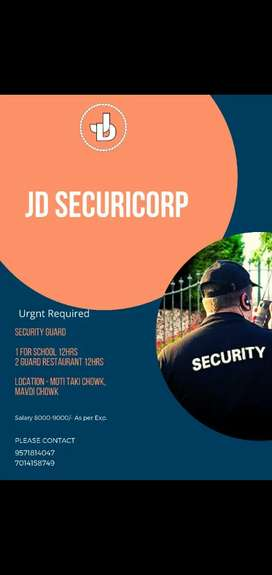 Security Guard Job in Rajkot