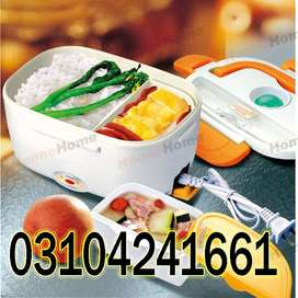 Electric Lunch Box can carry a weight of about 250 pounds. The