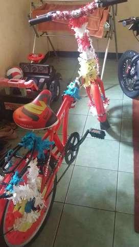 Jual cepat sepeda lipat baru pakai 1 bln