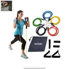 Exercise Workout Resistance Bands, Fitness for Health Resolution Healt