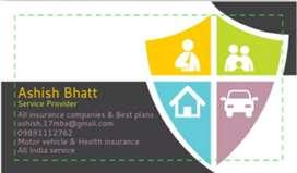 Car/bike/heavy vehicle insurance