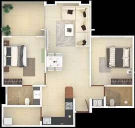 2 BHK for sale in New Project, Wagholi