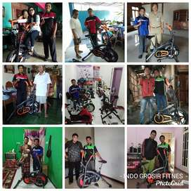 Pusat alat fitness Jateng DIY promo treadmill, homegym, sepeda statis