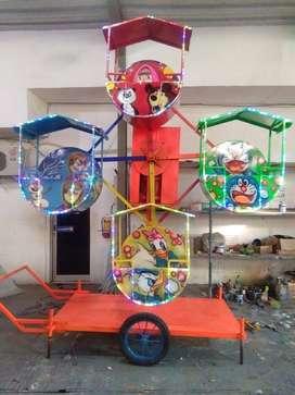 kincir angin  mini  mainan excavator eskavator GAL