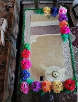 Hand made work on Wall mirrors