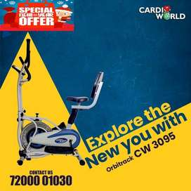 Grab the New Year offer on Back support Orbitreck bikes