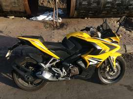 RS200 Pulsar ABS, Handled With Care & Single Handed