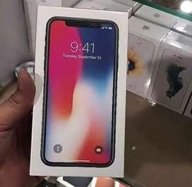 Iphone x 256gb new 1 tahun  .