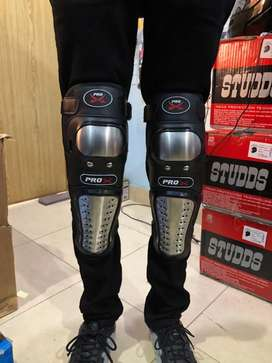 Motorcycle Touring Gloves, Knee Pads, Led Lights