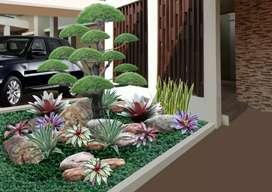 Jasa Desain Gambar foto Taman Rumah