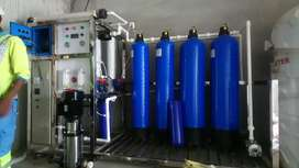 Commercial RO plant.