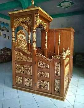 Mimbar masjid kubah