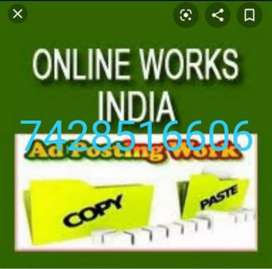 Easy part time home based job data typing