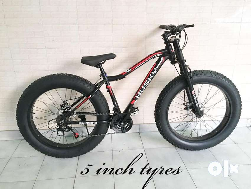Fat tyre bicycles - 5 inch tyre- brand new 0