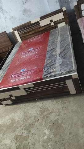 Brand New Talvar Design Double Bed