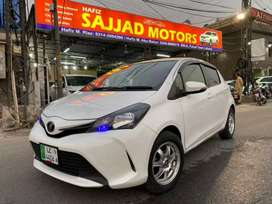 Toyota Vitz 2014  Reg 2019 F Package White