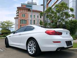 BMW 640i Coupe 2014 M-Sport White Km20rb Extend Wrnty-2020 TDP Ringan!