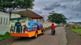 kereta mini wisata mobil transformer odong