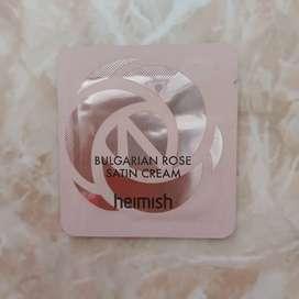Heimish bulgarian rose satin cream sample sachet