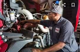 I need a job 4 wheeler car work shop