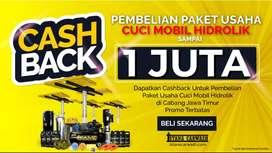 Pusat Alat Cuci Mobil Hidrolik Mobil - Motor Paket Usaha Cuci Mobil