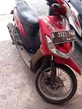Jual motor mio thn 2012 tanpa stnk