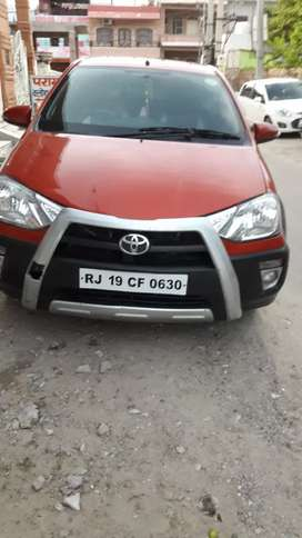 Toyota etios cross top model all 5 tyres r new