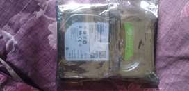 Seagte 2tb new hard disk seal pack