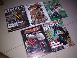 Majalah motor showbike, bikers, motobike, motorexx
