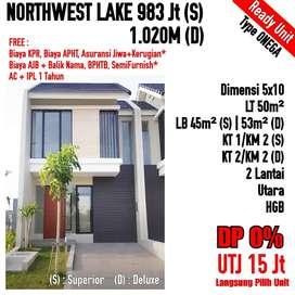 Rumah North West Lake Citraland Utara Murah 2 Lantai Banjir Promo!
