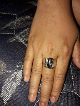 Batu cincin black opal banten