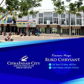 Ruko Siap Pakai Murah 2 Lantai Boulevard
