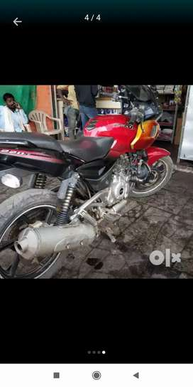 Pulsar 220 Red and black for sell