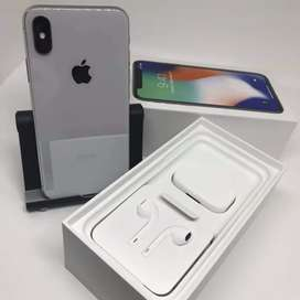 Refurbished iPhone x 4gb ram all colour box pack available