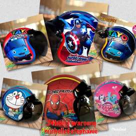 Bogo Retro Printing Kids Helmet Age Age 2-6 Years Character
