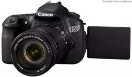 Canon 60D with 50mm canon lens 20% off