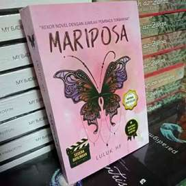 Novel wattpad MARIPOSA by luluk hf kertas book paperJ