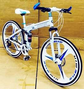 BMW 21 Gears mac Wheel Folding Cycle Shimano Gear Box