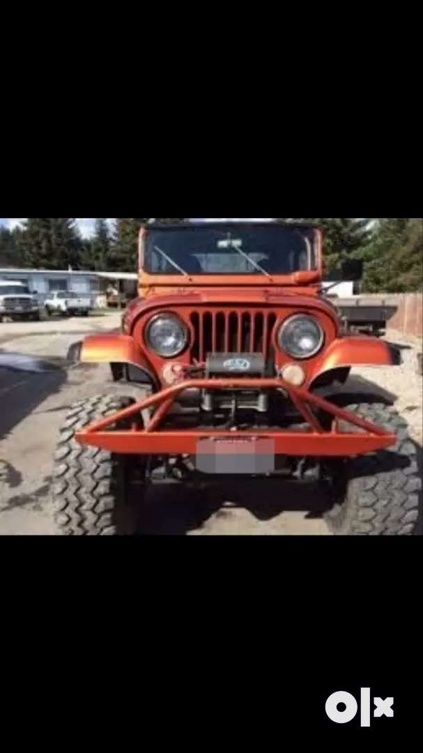 Toyota modified mahindra jeep 0