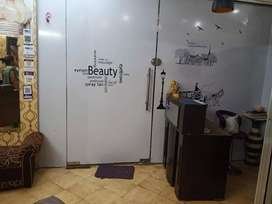 We are looking for buyers for a salon.
