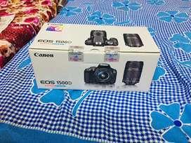 Canon 1500 d DSLR with 2 Lance's