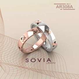 Jual cincin dengan custom yang sesuai keinginan kamu bisa pilih bahan