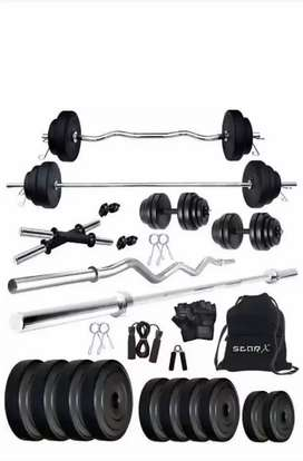 Home gym combo with bench