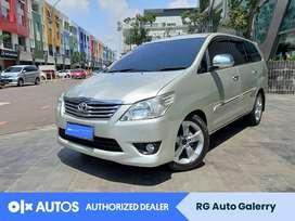 [OLX Autos] Toyota Kijang Innova 2.0 G Bensin A/T 2013 Silver #RGAuto