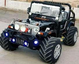Open Jeep Hunter style Modified open Jeeps